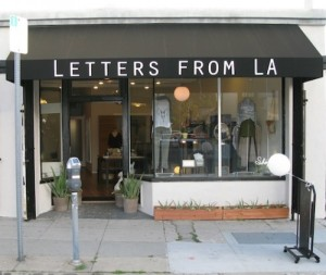 LETTERS FROM LA, Eagle Rock