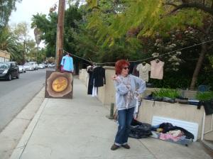Hollywood native @ a yard sale