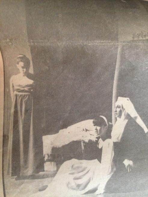 """The """"Nurse"""" in Romeo &Juliet ERHS 1990ish"""