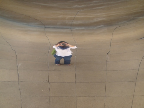 My image in the Bean!