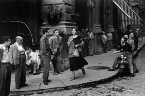 Ruth Orkin American Girl in Italy Poster